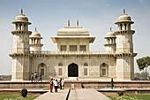 The Itimad-ud-Daulah mausoleum, also known as the Baby Taj, Agra, Uttar Pradesh, India