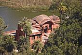 Jogi Mahal historic building in Ranthambhore Fort, Ranthambhore National Park, Rajasthan, India