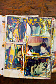 Hurricane Katrina. New Orleans, LA. The Ninth Ward. Damaged Wedding album