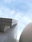 Architektur, Barcelona, Catalunya, Ciutat, Design, Europa, Fassade, Kunst, MACBA, Modern, Museen, Museum, Raval, Spanien, Vella, Winter, Zeitgenosse, zeitgenössich, XT4-999557, agefotostock