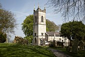 st patricks church now used as a visitors centre for the hill of tara teamhair na ri hill of the king archaeological complex in county meath republic of ireland