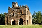 historic Fasiladas Archive, Royal Enclosure Fasil Ghebbi, UNESCO World Heritage Site, Gonder, Gondar, Amhara, Ethiopia, Africa