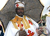 Africa,Eritrea,Asmara,Meskel is an annual religious holiday of the Eritrean Orthodox Church commemorating the discovery of the True Cross by Queen Eleni Saint Helena in the fourth century,It Includes the burning of a large bonfire, or Damera, based on the