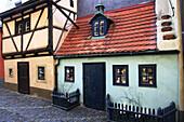 Czech Republic, Prague, Castle District, Golden Lane