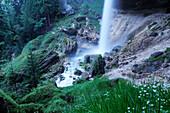 Pericnik waterfall, Triglav national park, Julian alps, Slovenia