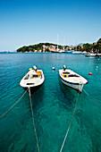 Boats, harbour, Cavtat, Dubrovnik, Dalmatia, Croatia
