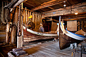 Norwegian Fishing Village Museum, Moskenesoya, Lofoten Islands, North Norway, Norway