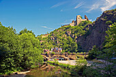 Castle Are, Altenahr, Rhineland-Palatinate, Germany