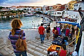 Cales Fonts, Es Castell, Minorca, Balearic Islands, Spain