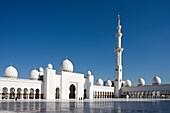 Sheikh Zayed Mosque, Abu Dhabi, UAE (United Arab Emirates)