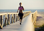 Aussen, Einpassen, Frau, Laufen, menschlich, Sport, Übung, Weiblich, A75-1139417, AGEFOTOSTOCK