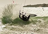kite, kitesurf, kitesurfing, water, wave, A75-1139423, AGEFOTOSTOCK