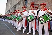 Alarde festival, Hondarribia, Guipuzcoa, Basque Country, Spain