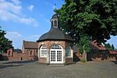 D-Dormagen, Rhine, Lower Rhine, North Rhine-Westphalia, D-Dormagen-Nievenheim, chapel of the parish church Saint Pankratius, catholic church
