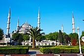 Mosque Sultan Ahmet. Blue Mosque. Istanbul.Turkey.