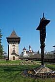 Romania, Moldavia Region, Southern Bucovina, Humor Monastery