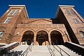 USA, Alabama, Birmingham, 16th Street Baptist Church, famous for its part in the Civil Rights struggle of African-Americans