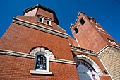 USA, Alabama, Montgomery, First Baptist Church, landmark during the struggle for Civil Rights by African-Americans