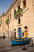 Malta, Valletta, Floriana, buildings at Pinto Wharf