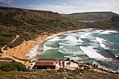 Malta, Northwest Malta, Ghajn Tuffieha Bay Beach