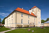 Latvia, Western Latvia, Kurzeme Region, Ventspils, Castle of the Livonian Order
