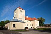 Latvia, Western Latvia, Kurzeme Region, Ventspils, Castle of the Livonian Order, morning