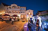 Nightlife in Sassnitz, Island of Rügen, Mecklenburg-Vorpommern, Germany