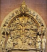 St. Peter's Church, Wurzel-Jesse-Relief, Worms, Rhenish Hesse, Rhineland-Palatinate, Germany, Europe