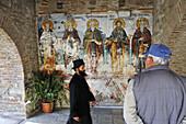 Fresco of Protaron, Protaron church, Karies, Athos mountain, Chalkidiki, Greece