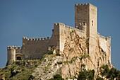Castle, Almansa, Albacete province, Castilla la Mancha, Spain