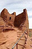 Wukoki Pueblo Ruins Wupatki National Monument Flagstaff Arizona