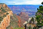 Grand Canyon South Rim Vista National Park Arizona