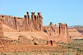 The Organ Arches National Park Moab Utah