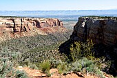 Canyon in a Canyon Colorado National Monument Grand Junction