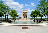Marbois and Fountain of Centaurs State Capitol Jefferson City Missouri