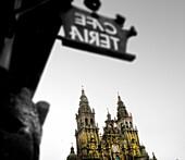 Plaza Obradoiro, Santiago de Compostela, Galicia