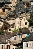 La Roque-Gageac valley Dordogne River Aquitaine France travel tourist destination hilltown