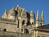 Romanesque dome of cathedral, Zamora. Castilla-Leon, Spain