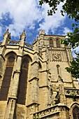 St-Nazaire cathedral XIVth century, Béziers. Hérault, Languedoc-Roussillon Francia