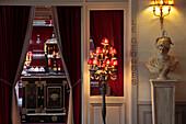 Entrance To The Gourmet Restaurant 'Le Georges', Le Grand Monarque, Chartres, Eure-Et-Loir (28), France