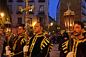 Parade Of Penitents, Procession Of The Christ Of Faith And Pardon, Holy Week For The Easter Holidays, (The Passion Of Christ), Madrid, Spain