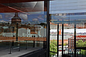 The Architect Jean Nouvel's Extension Of The Queen Sofia Museum, Calle Santa Isabel, Atocha Neighborhood, Madrid, Spain