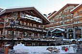 Luxury Goods Shops, Courchevel Ski Resort At 1850 Metres Altitude, Savoy (73), France