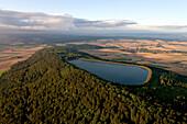 Reservoir, pumped-storage hydroelectricity, Erzhausen, Lower Saxony, Germany