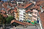 Old town, Lausanne, Vaud, Switzerland