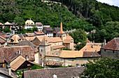 Romainmotier Monastery, Romainmotier-Envy, Canton of Vaud, Switzerland