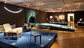 Exhibition Ideen sitzen. 50 Jahre Stuhldesign, Museum für Kunst und Gewerbe Hamburg, Hanseatic city of Hamburg, Germany, Europe