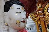 Marble Buddha in Wat Chana Somgkhram