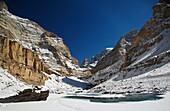 Abenteuer, Buddha, Buddhismus, Chadar, Chaddar, Entdeckungsreise, Indien, Jammu und Kaschmir, Kälte, Ladakh, Tours, Treck, Winter, Zanskar, T91-1212755, AGEFOTOSTOCK