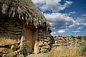 Tradicional cabin in Navalosa, Sierra De Gredos Ávila Castilla y León Spain